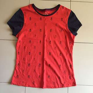 Hush Puppies Red Top