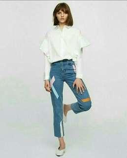Celana Jeans stripe