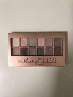The blushed nudes Eye palette