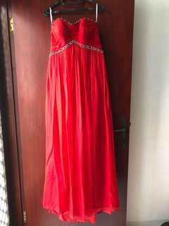 Gaun pesta wedding/party dress