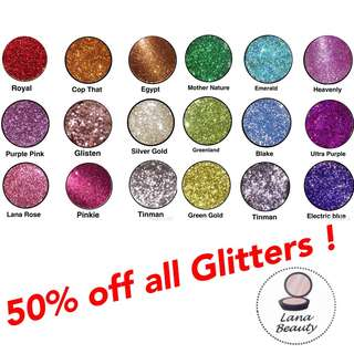 SALE! On all Glitters ✨