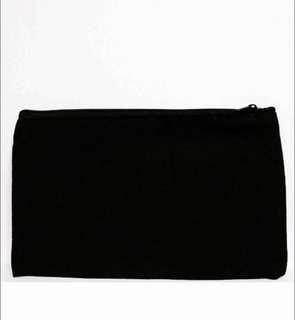 black pencil case