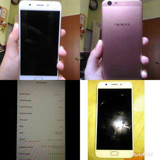OPPO F1s RoseGold & ASUS Zenfone 3 Black
