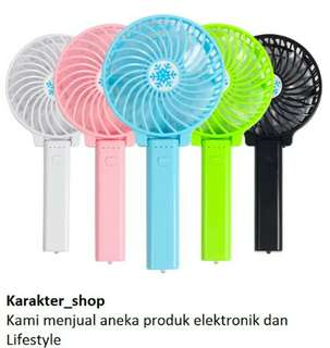 Mini hand fan kipas genggam kipas angin protable