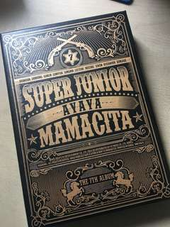 [100%NEW] Super Junior 7輯 Mamacita
