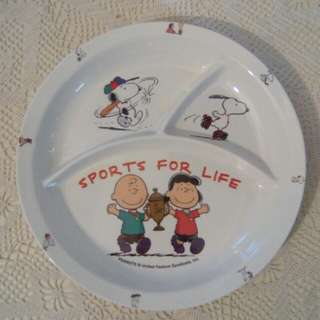 """Snoopy plate, 10"""""""