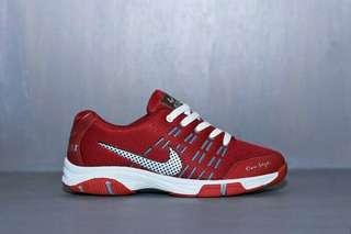 Sepatu Sport Nike Airmax Merah Pria