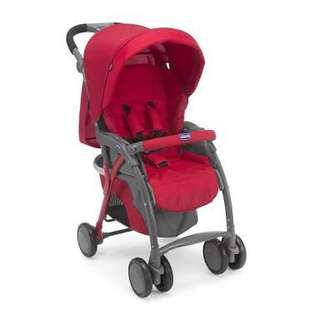 Chicco Simplicity Red Stroller