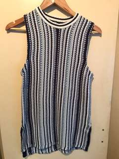 Sportsgirl Knit Sleeveless Top Size XS