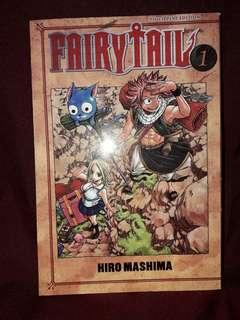 FAIRYTAIL Manga Book 1 (Tagalog)