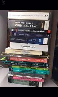 Law Books (all kinds)