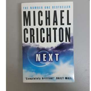 #July100 Next by Michael Crichton