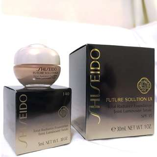 Shiseido Future Solution LX Total Radiance Foundation (5ml Travel Pack)