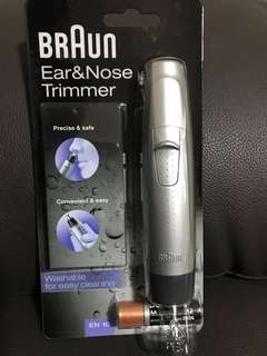 Braun Ear&Nose trimmer