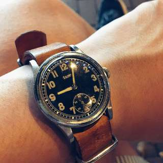 Silvana German WW2 military watch 二戰德軍錶 _not seiko rolex omega