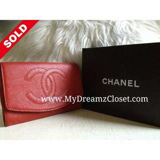 Sold Chanel Wallet 5