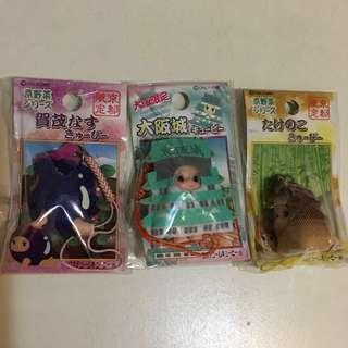 大阪 京都 限定 Kewpie 丘比bb 沙律bb 絕版 地域限定 匙扣 新品 未開封 (非sonny angel, blythe)日本公仔 娃娃