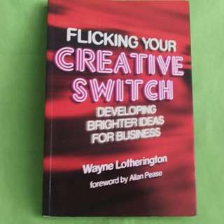 Flicking Your Creative Switch Paperback Book