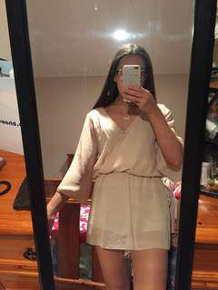 Nude/Beige Playsuit