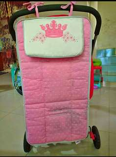 Baby stroller pad