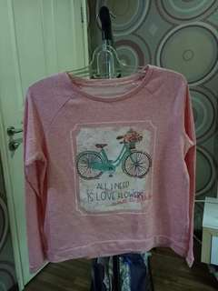 Sweter atau long sleeve