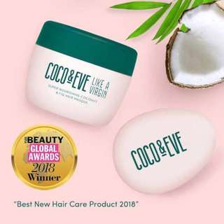 🚚 (INSTOCK)BNIP Coco & Eve Like a Virgin Hair Masque