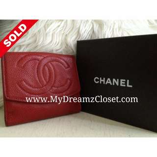 Sold Chanel Wallet 6
