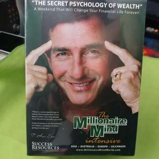 The Millionaire Mind - The Secret Psychology Of Wealth Dvd /Cds