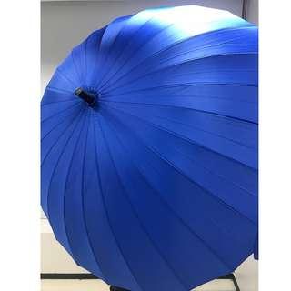 超特大24骨 防反雨傘 多種顏色