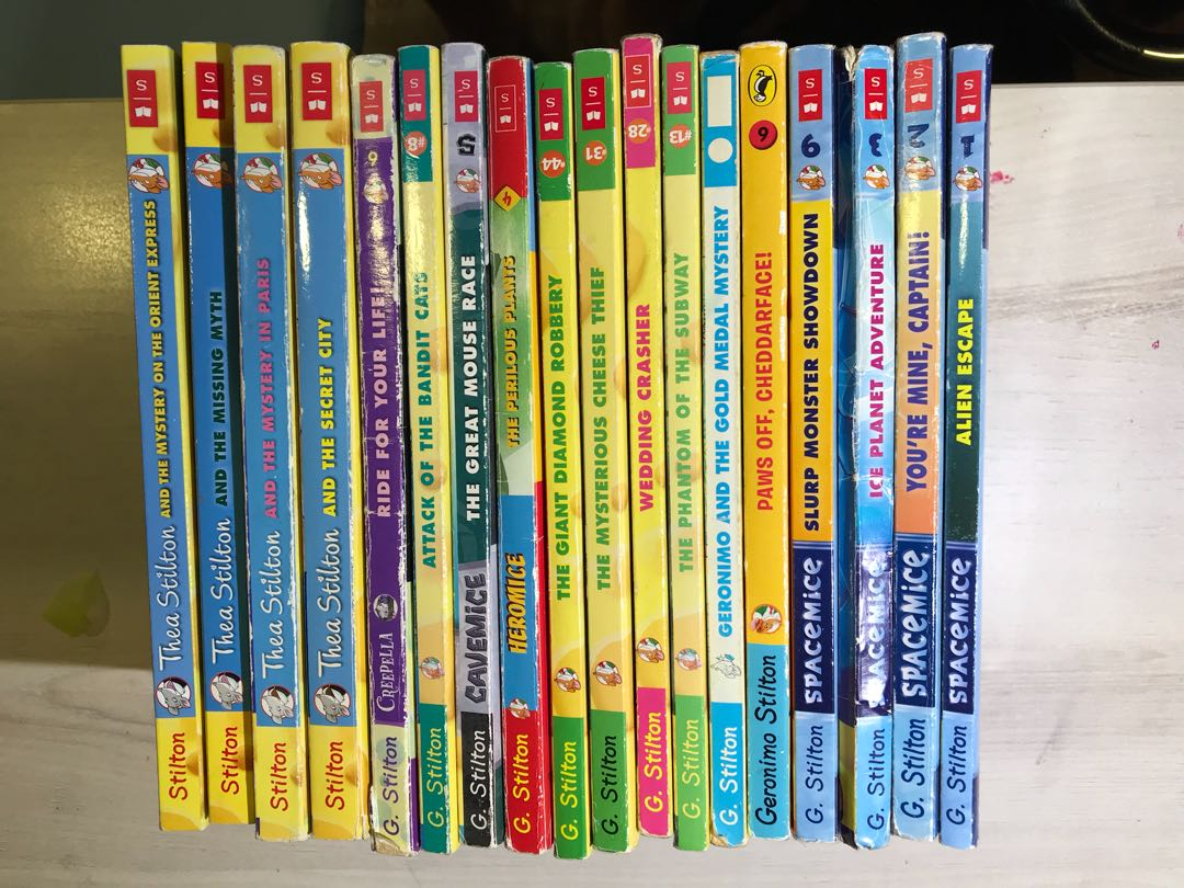 18 Geronimo Stilton Books For Grab Books Stationery Children S Books On Carousell