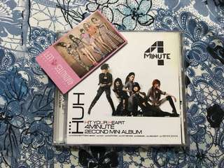 4Minute Hit Your Heart 2nd Mini Album