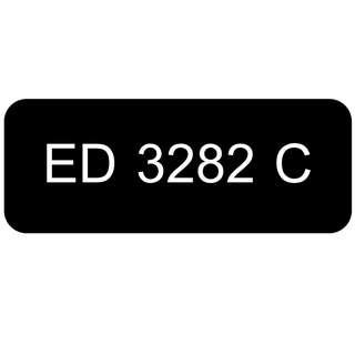 Car Number Plate for Sale: ED 3282 C