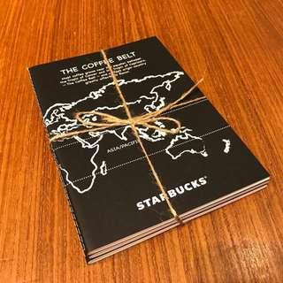 Starbucks notebook set