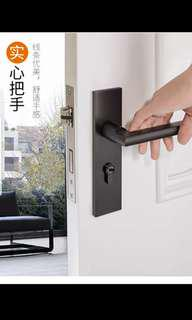Matt Black Mortise Lock / Door Handle