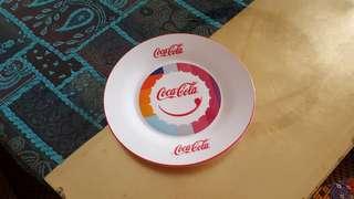 Coca cola side plate