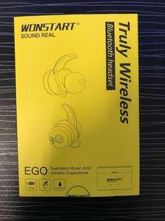 WONSTART 無線藍芽運動耳機(防水)