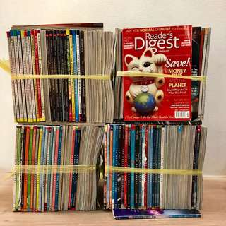 130 for $25! Readers Digest Magazines