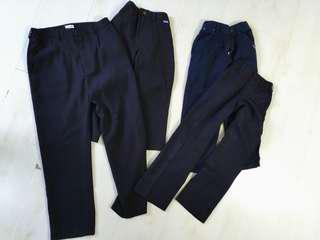 Black pants for formal or casual music violin piano performance free postage