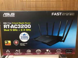 ASUS Tri-band Gigabit Router RT-AC3200
