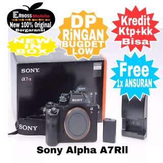 Sony Alpha A7RII [Body Only] New Resmi Cash/kredit Ditoko Dp Call/Wa;081905288895