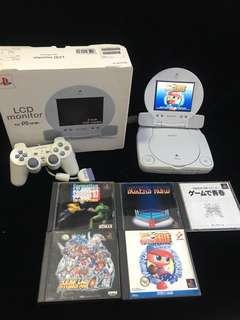 🚚 PSOne Slim LCD combo w games
