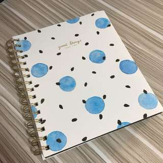 Typo A5 3 divider notebook
