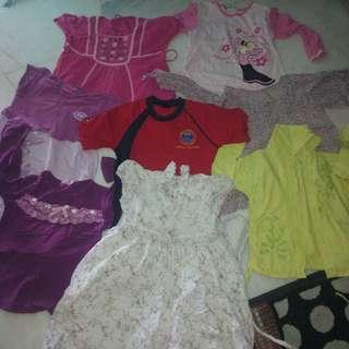 baju kanak=kanak perempuan