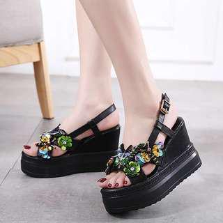厚底 晚裝 涼鞋 high heels sandals
