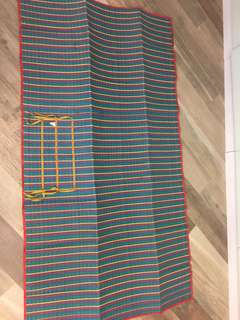 Beach mat size 37' x 68'
