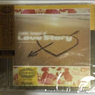 ( Top Music ) Latin Sound Of Love Story ( CD )