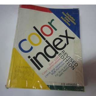 Color Index for Graphic Designers
