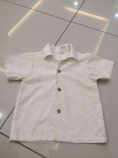 Cream Shirt(6-12m)