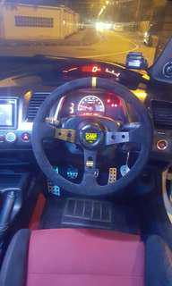 Honda Civic Steering Wheel With NRG bosskit for Sales