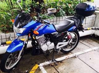 Suzuki en 150 連尾箱